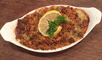 Baked Cod with Parmesan Ritz Crumbs