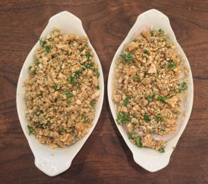 Baked Cod with Parmesan Ritz Crumbs - Thyme with Catherine