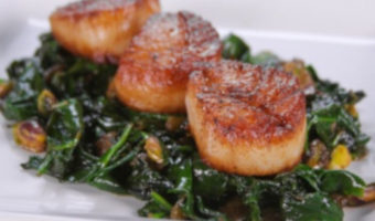 Brown Butter Sea Scallops