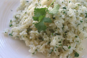 Cilantro Lime Rice - Thyme with Catherine
