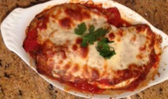 Eggplant Parmesan - Thyme with Catherine