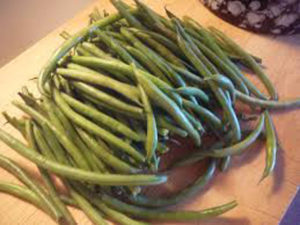 Fresh Green Beans with Garlic - Thyme with Catherine