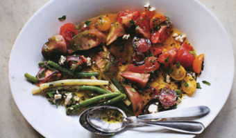 Greek Bean Salad - Thyme with Catherine