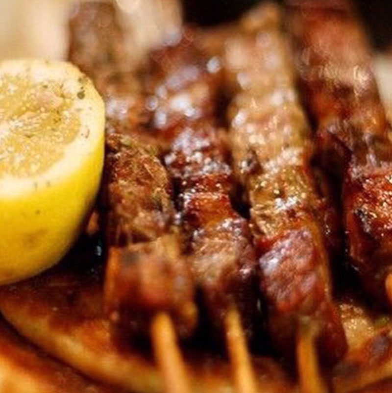 Grilled Souvlaki - Thyme with Catherine
