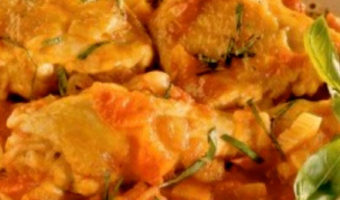 Kokkinisto Greek Chicken in Red Sauce - Thyme with Catherine