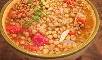 Lentil Stew - Thyme with Catherine