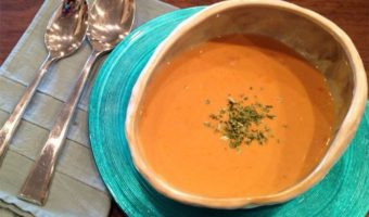 Lobster Bisque - Thyme with Catherine