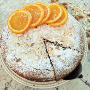 Orange Almond Cake - Thyme with Catherine