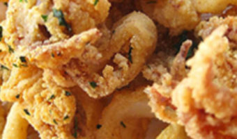 Red Pepper Calamari - Thyme with Catherine