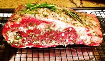 Rosemary-Crusted Prime Rib - Thyme with Catherine