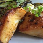 Sake Glazed Cod - Thyme with Catherine