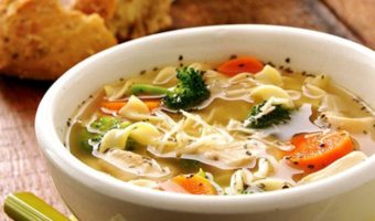 Simple Chicken Soup - Thyme with Catherine