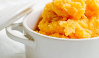 Sweet Potato Puree - Thyme with Catherine