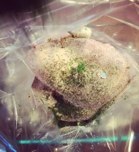 Wine Soaked Turkey Breast - Thyme with Catherine