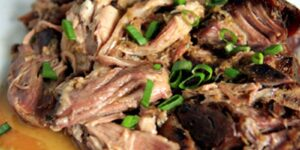 Sweet and Fire Pulled Pork - Thyme with Catherine